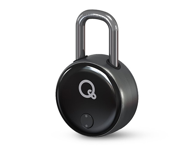 This super tough key-free padlock is opened with a cell phone, card, or ring, and lets you decide who else you want to grant access.