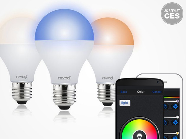 These aren't your grandma's lightbulbs, with millions of colors, dimming, and smartphone controlability