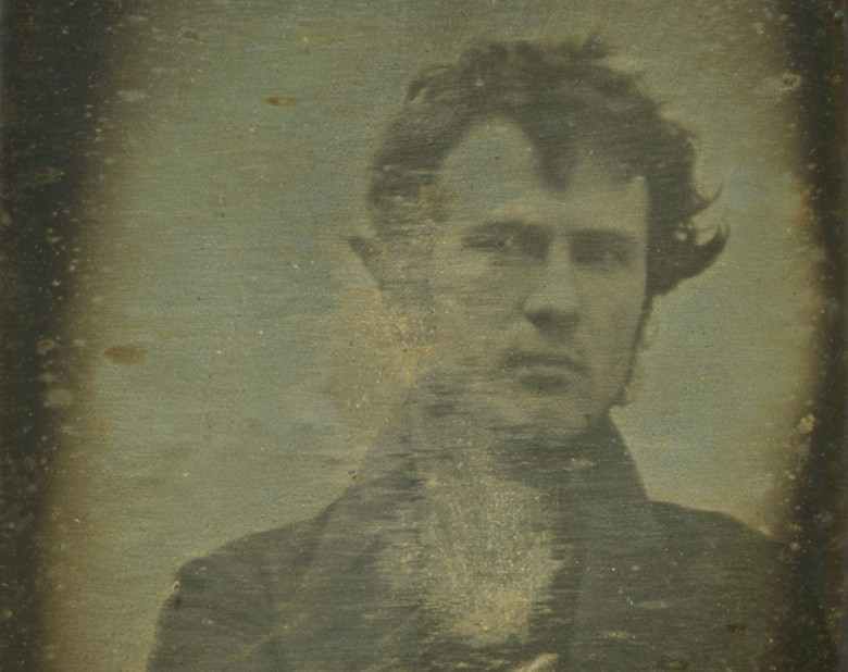 Robert Cornelius made photography history with the first known self-portrait taken in 1839.