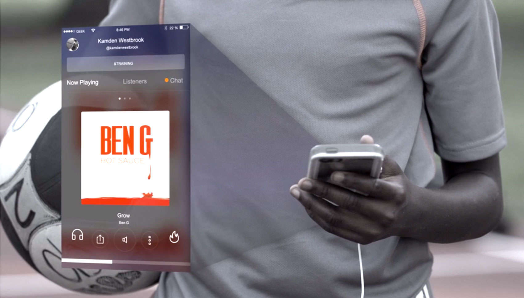 The Geekin Radio app lets users listen to music together in real time.