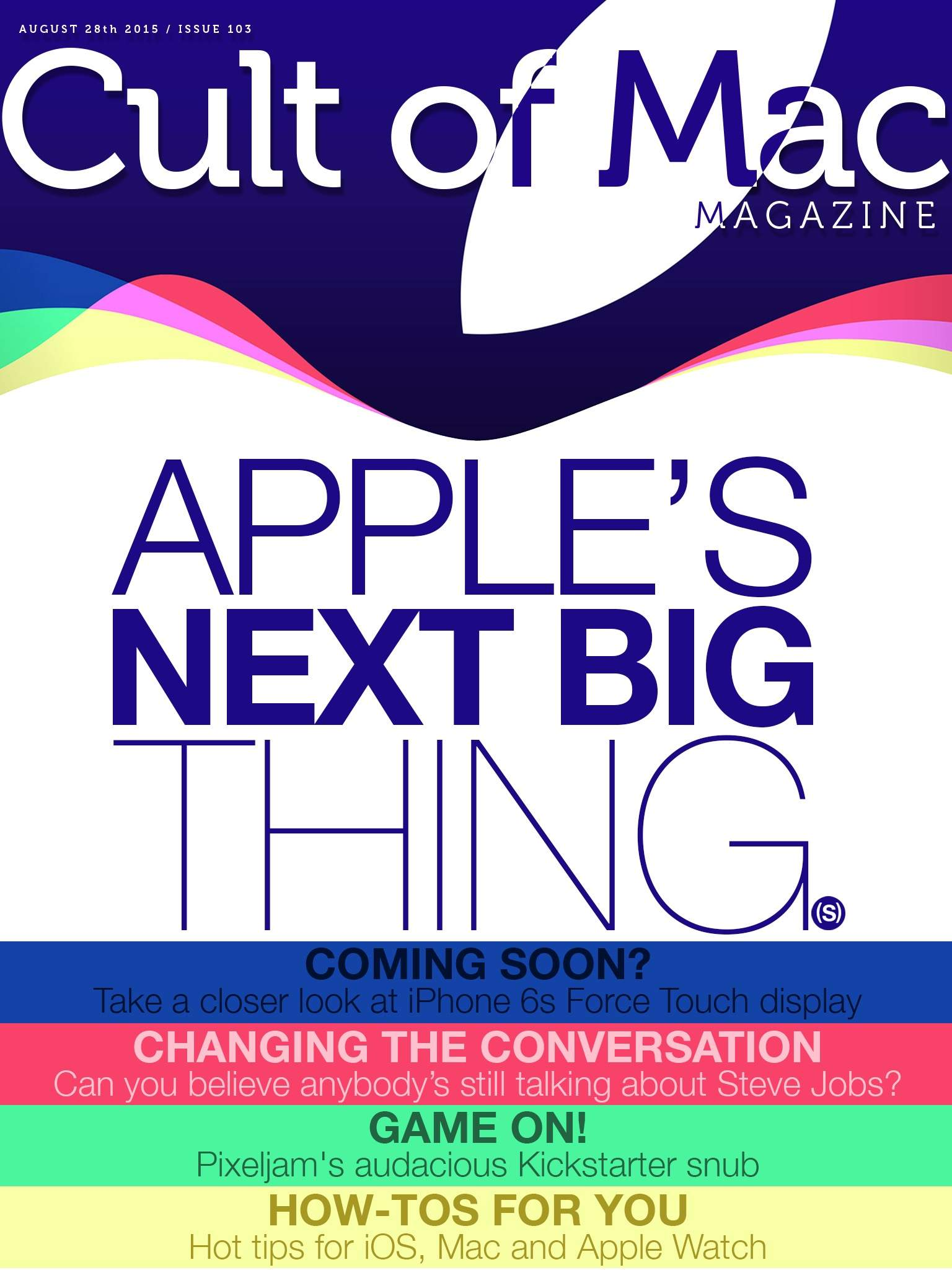 What's headed our way, Apple fans?