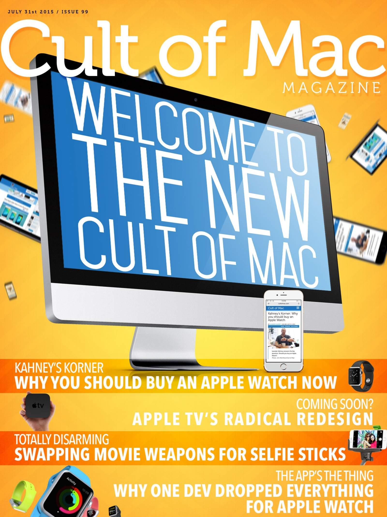 In case you hadn't noticed, Cult of Mac's got a new look!