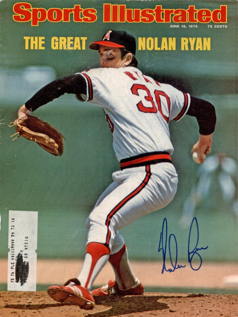 Nolan Ryan consistently threw into the high 90s and occasionally topped 100 during his Hall of Fame career.
