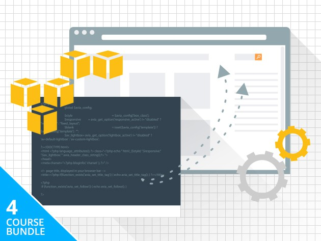 Learn to leverage Amazon's mighty cloud-based Web Services across 4 courses and 24 Hours of certification training