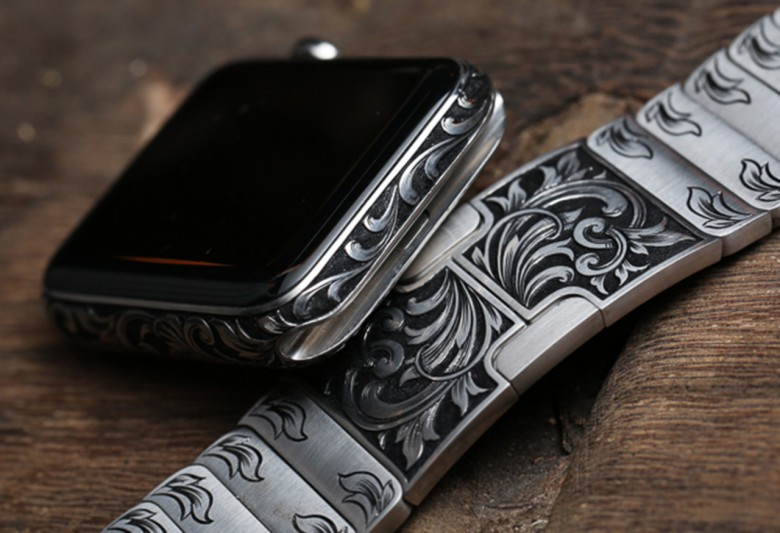 MadeWorn's custom engraved Apple Watch is better looking than an Edition.