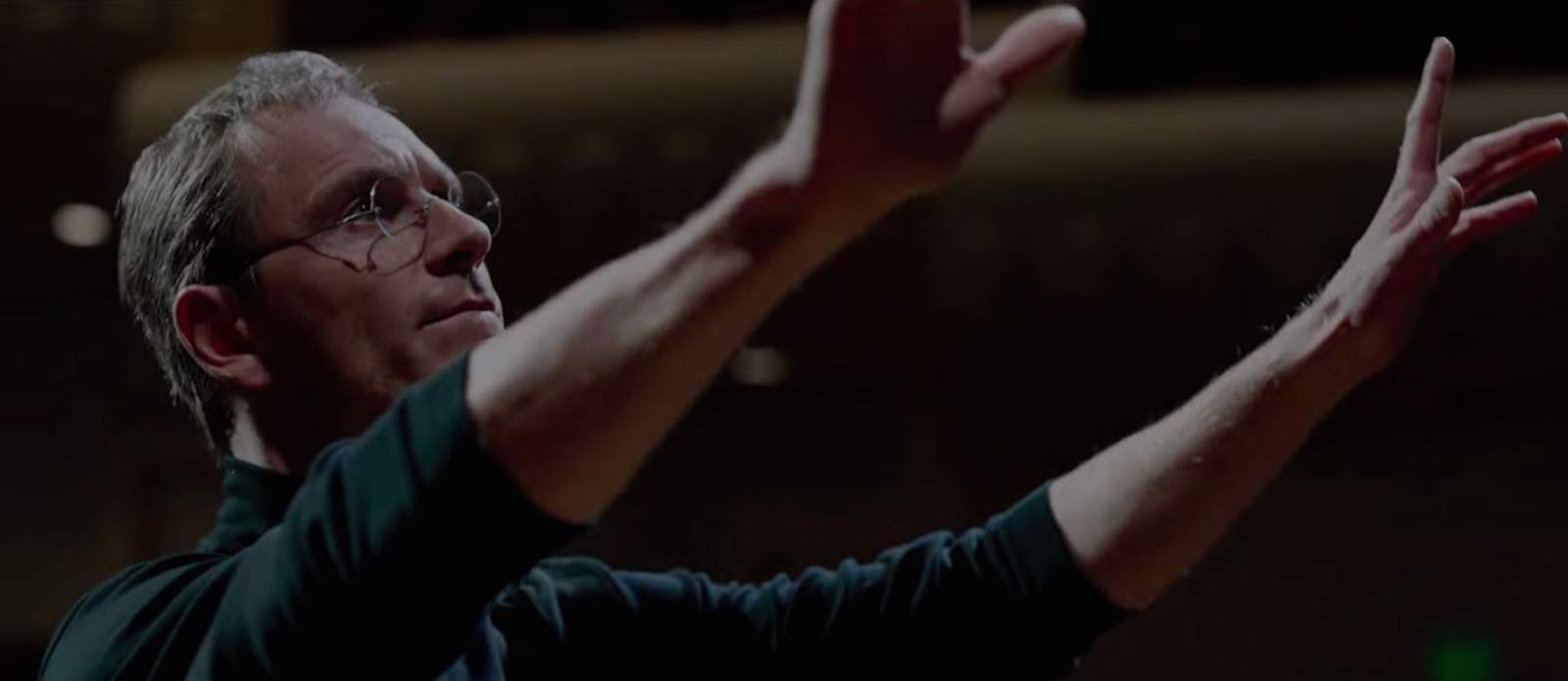 Michael Fassbender is Steve Jobs.