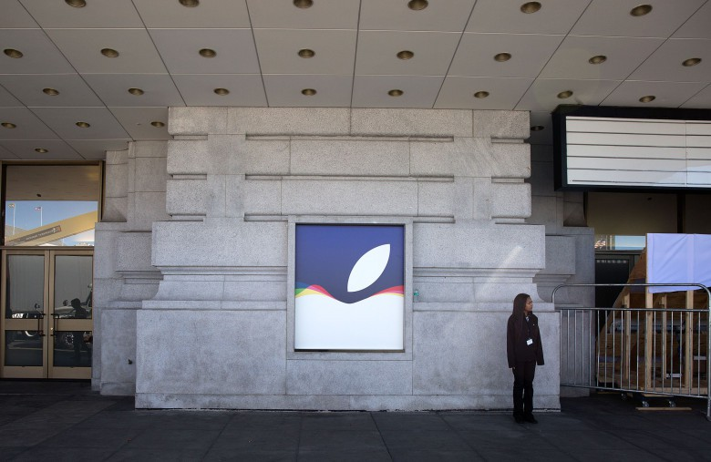 Apple is making its mark on San Francisco.
