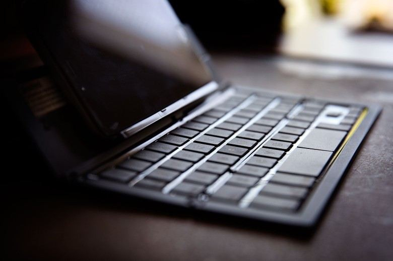 Plunk the Zagg Pocket Keyboard in your backpack for typing on the go.