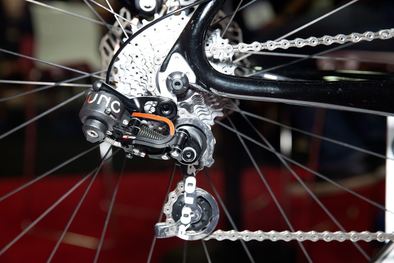 Rotor is coming to the market with a slick looking hydraulic derailleur set-up.