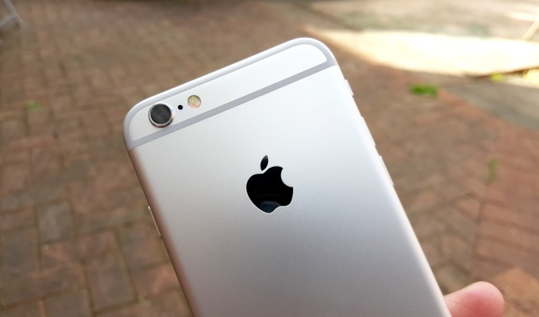 iPhone 6s boasts a new 12-megapixel camera.