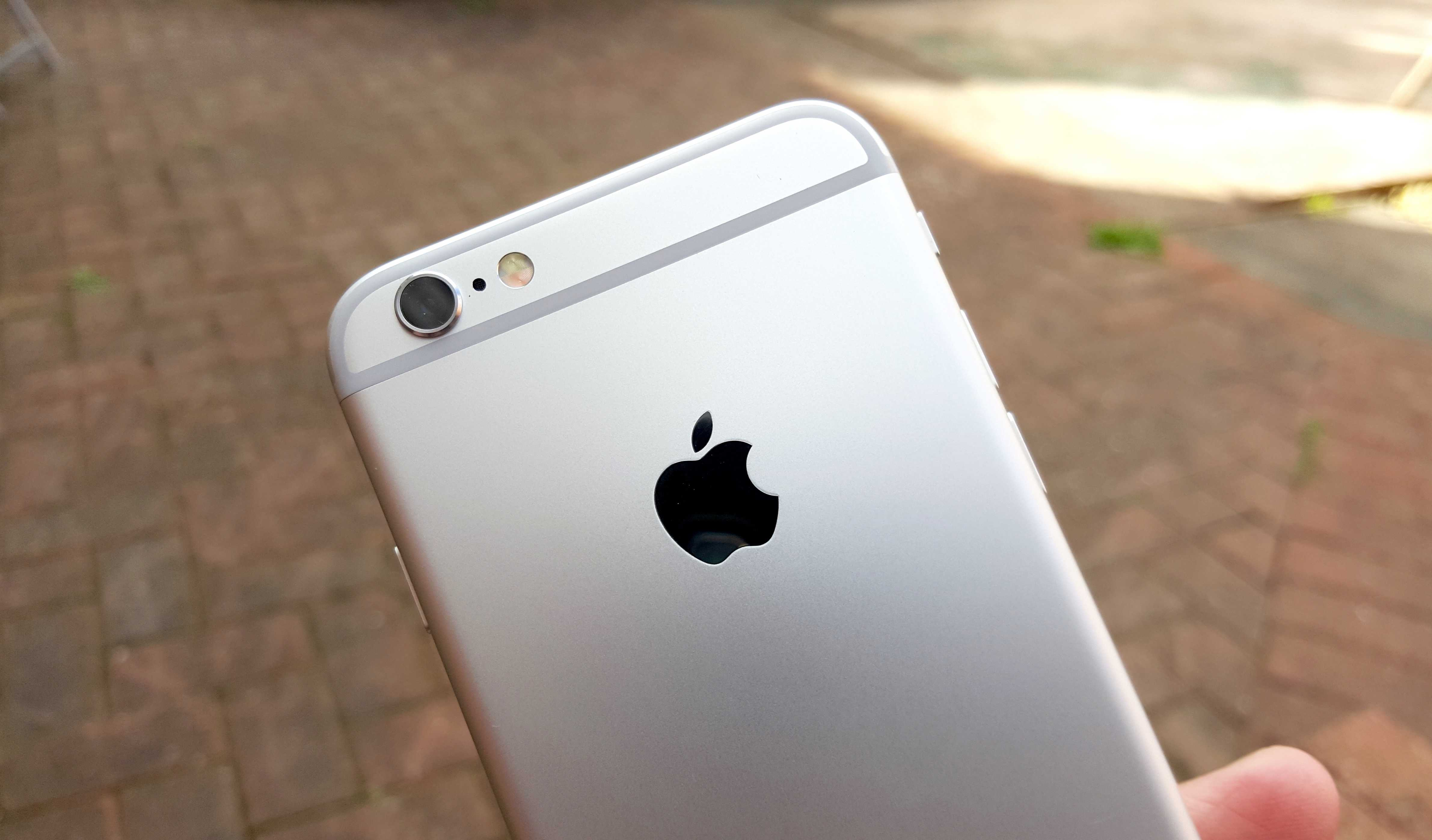 iPhone 6s boasts a new 12-megapixel camera.