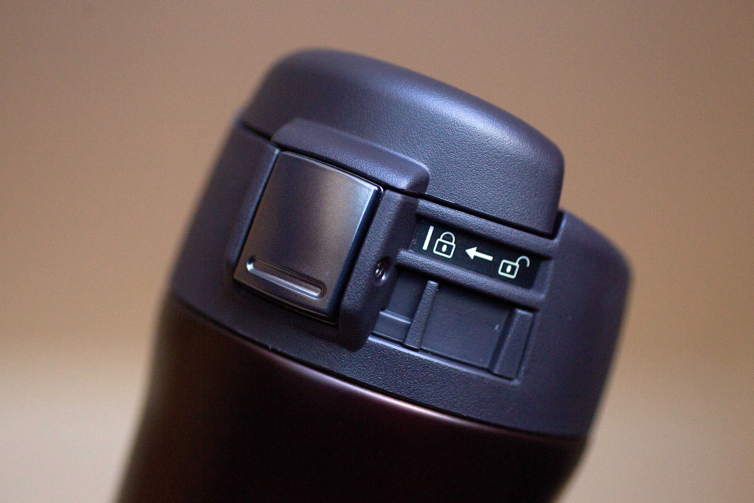 The Zojirushi travel mug will keep your coffee hot and contained.