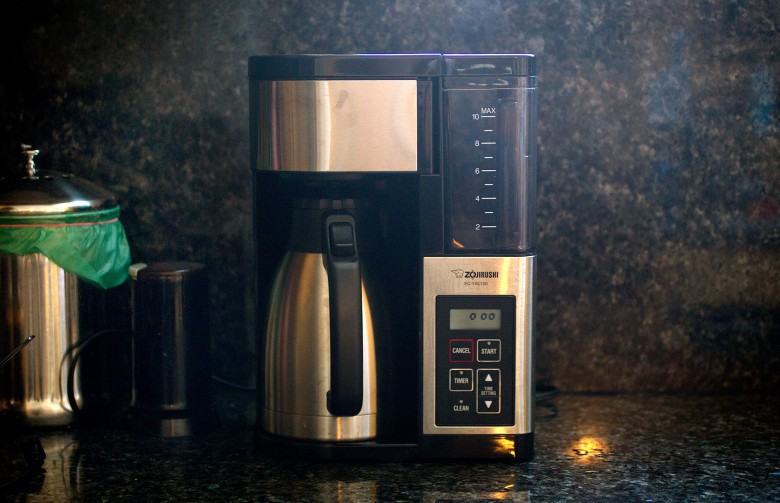 Zojirushi's Fresh Brew Plus  coffeemaker will keep your joe fresh and piping hot.