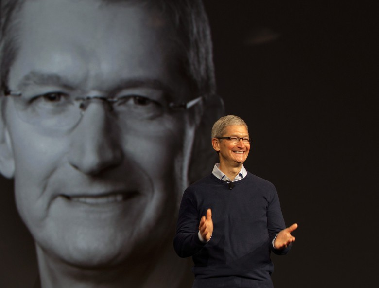 Tim Cook was ranked the nation's top CEO by ExecRank.