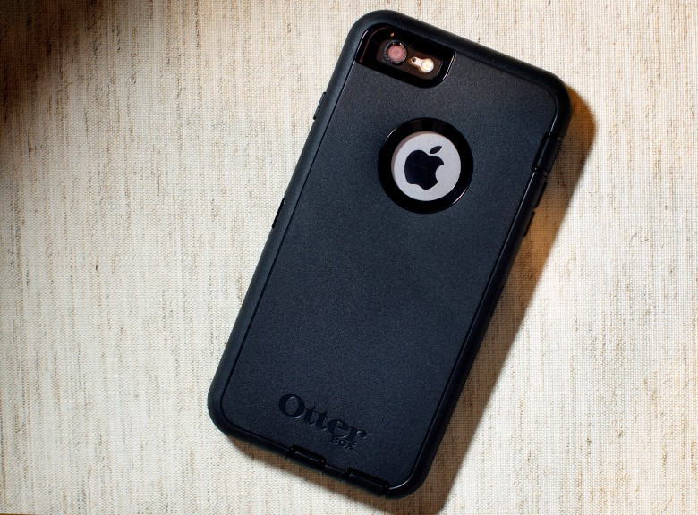The Otter Box Defender series brings peace of mind.