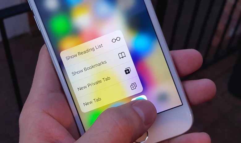 what is 3d touch iphone 6s