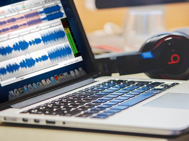 A full-featured audio editing app that doesn't require an engineering degree to use.