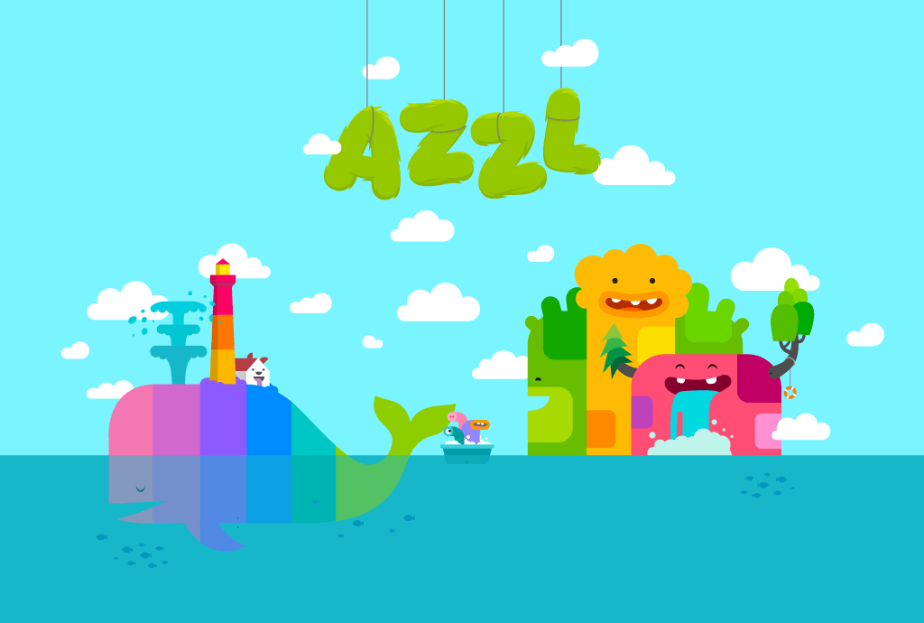 AZZL is a cleverly designed, brain-tickling puzzle game built around lovingly designed animations and characters.