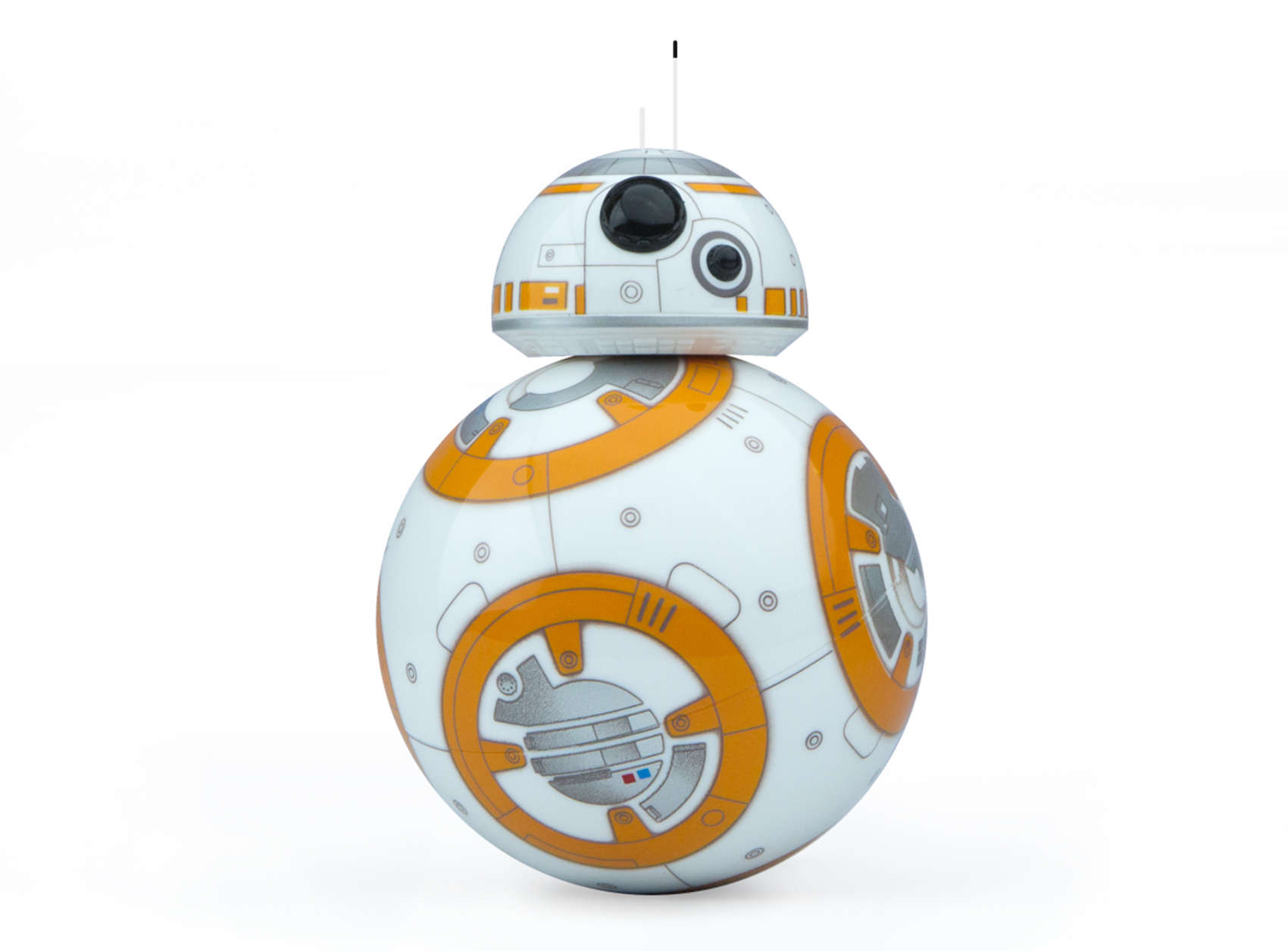BB-8, the cute little droid from Star Wars: The Force Awakens, is now available as an app-enabled companion.