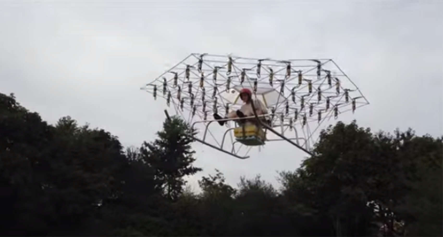 First Manned Drone Uses 54 Propellers Cult Of Mac