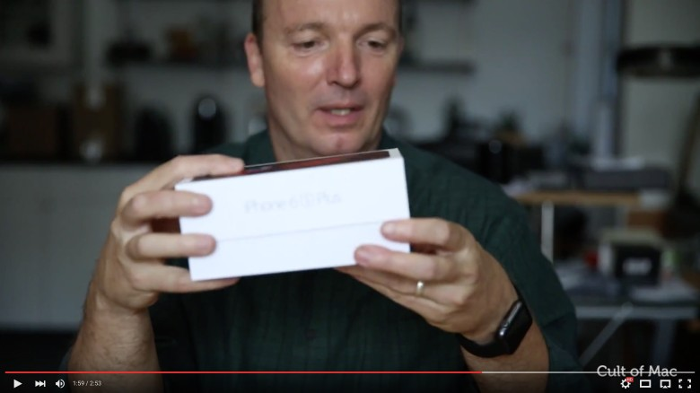 Check out our unboxing of Apple's new iPhone 6s Plus below.