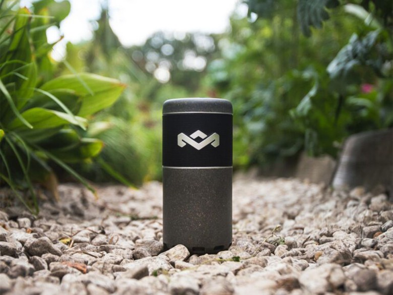 The Sport Chant is a water-resistant Bluetooth speaker with 360-degrees of sound.