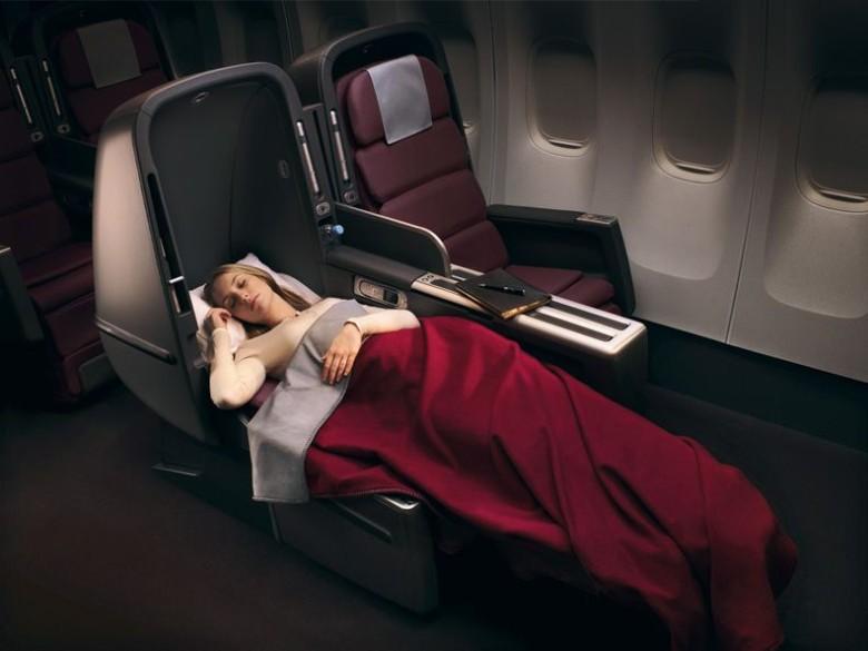 Qantas Skybed