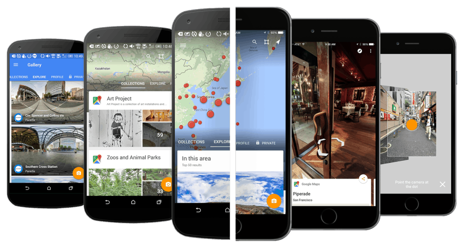Street View is finally its own app.