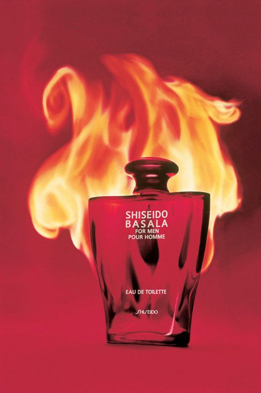 Shiseido perfume bottle