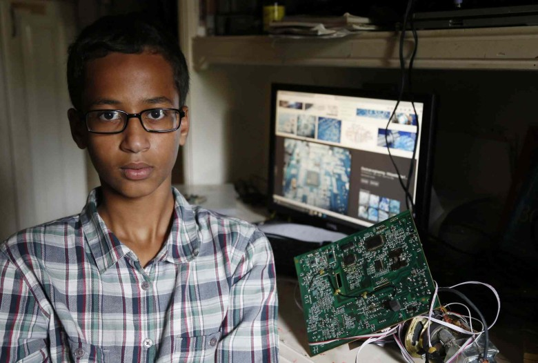 Irving MacArthur High School student Ahmed Mohamed.