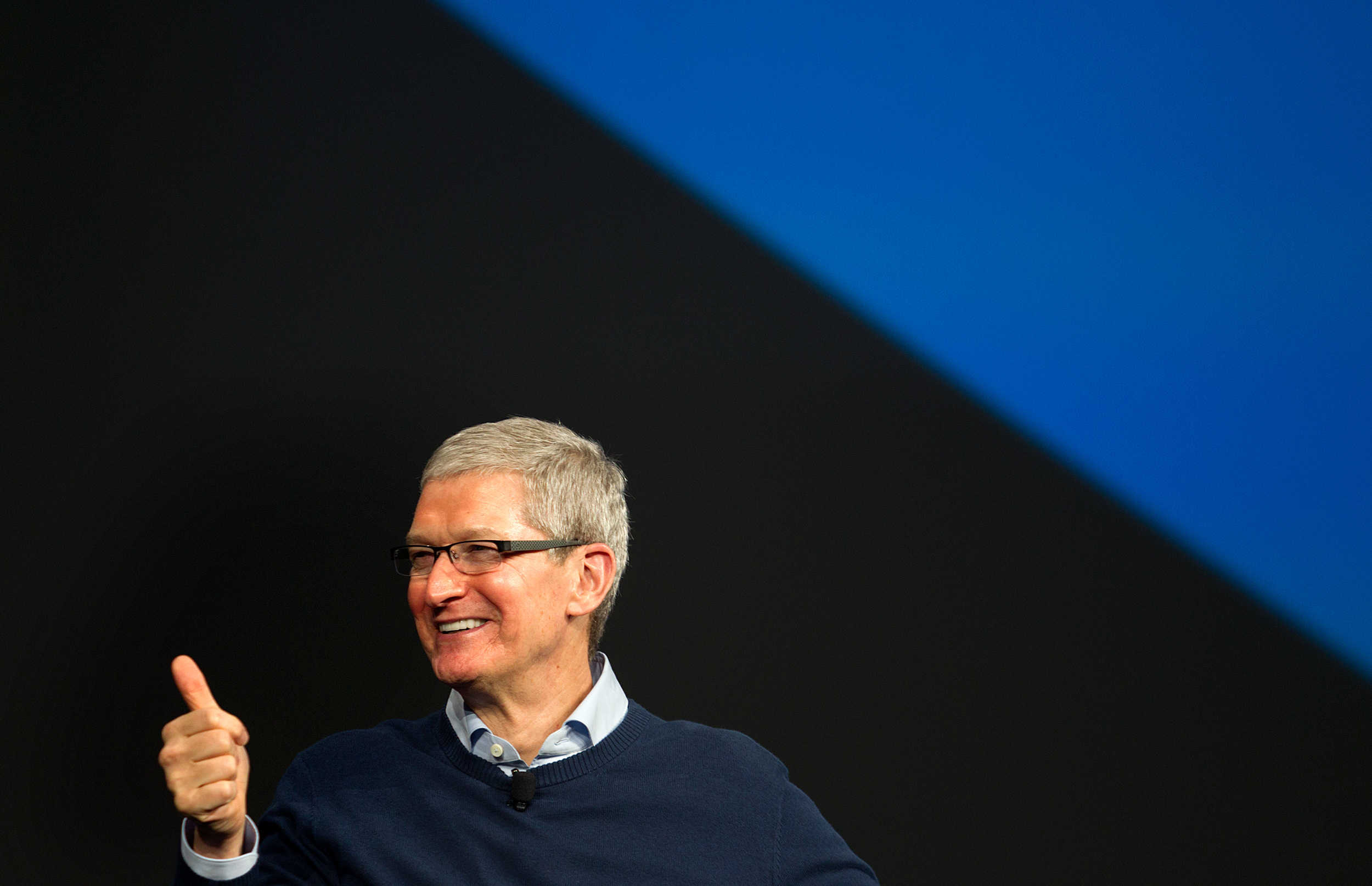 Tim Cook gets as many votes as Jindal in presidential primary