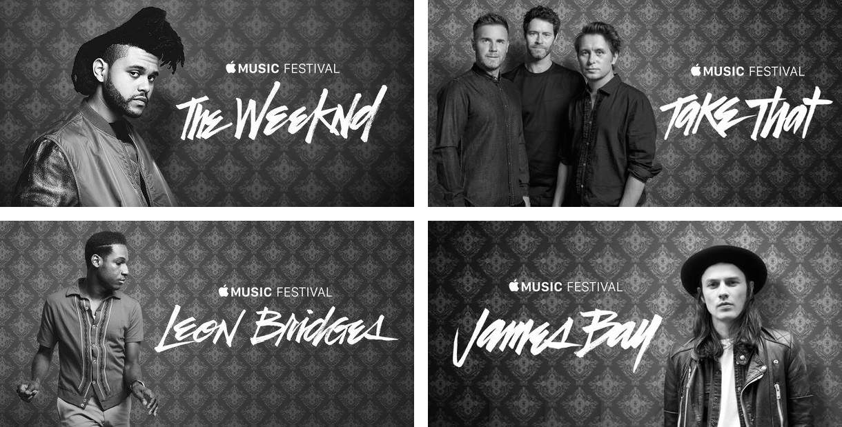 Apple Music Festival is starting to dial in its lineup.