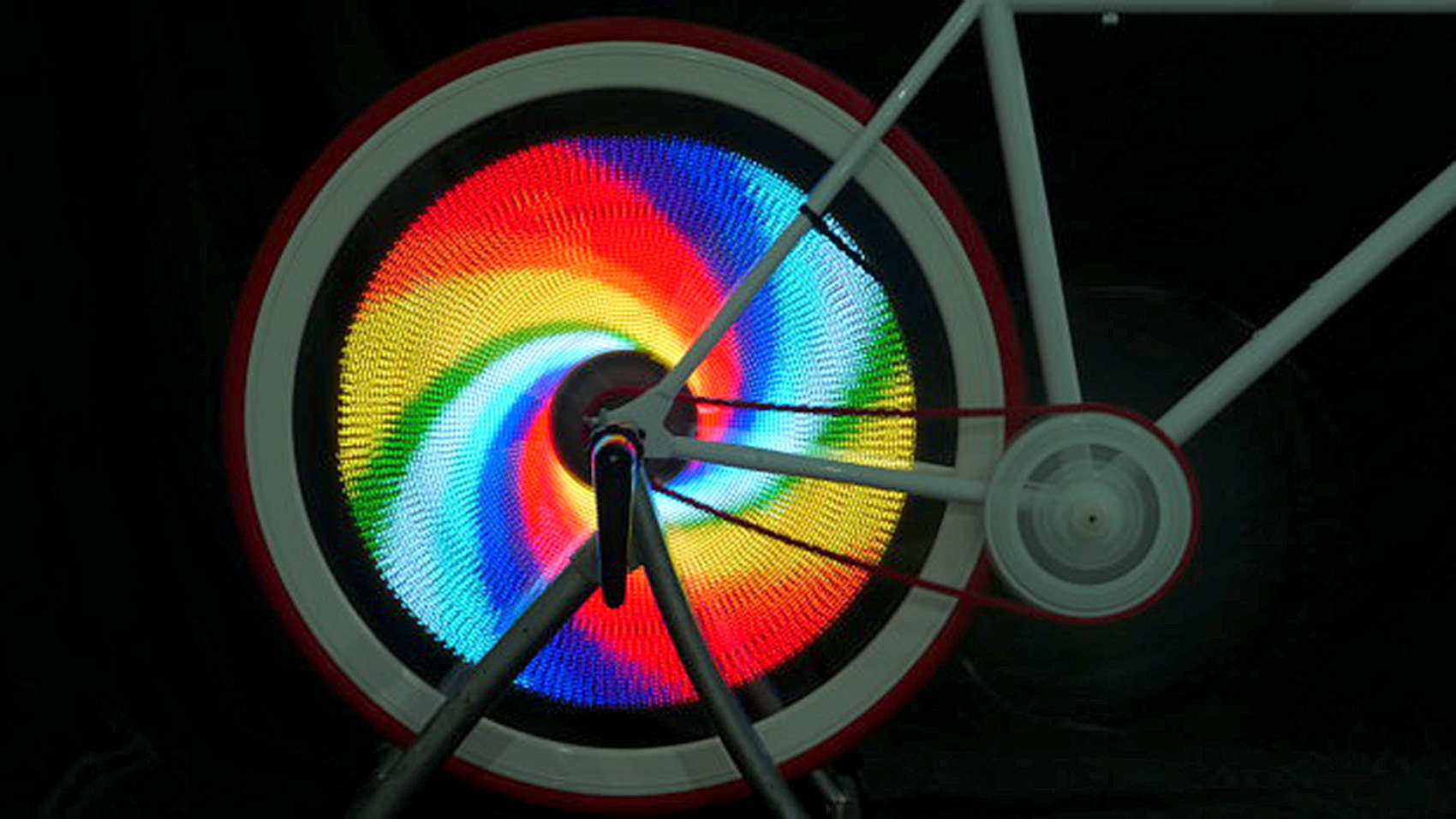 The Balight brings animation to the bike wheel with 376 LED lights.