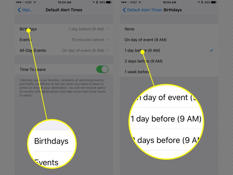 Make sure you're notified in useful ways iPhone setup.