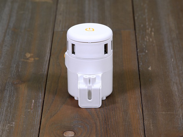 An all-in-one adapter that makes sure you can always find a charge in more than 150 countries.