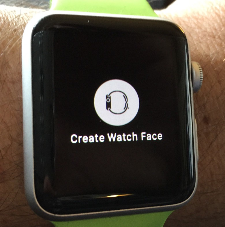 Make a face from any photo on your Apple Watch.