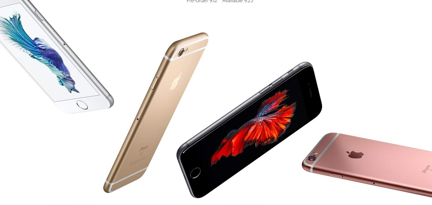 The iPhone 6s has more junk in the trunk.