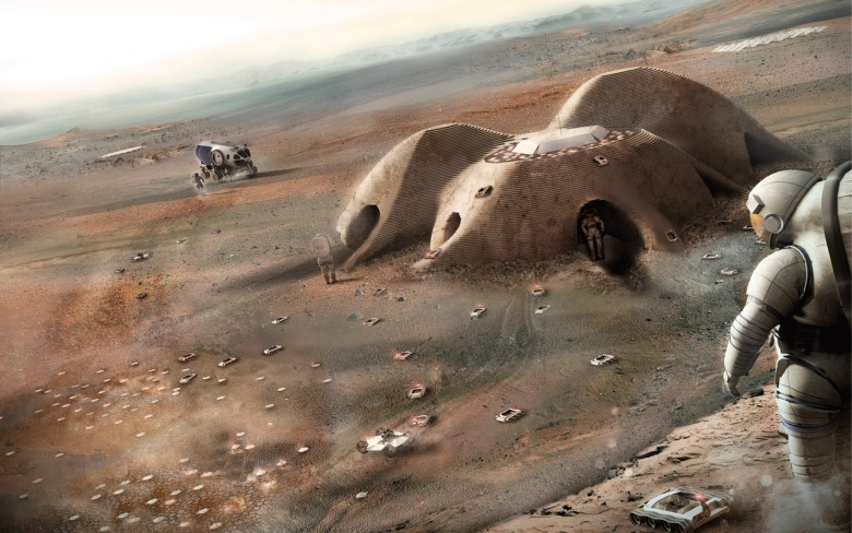 Foster + Partners want to take on Mars.