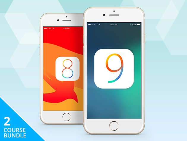 This bundle of lessons covers all the essentials of coding for iOS 9 and iOS 8.