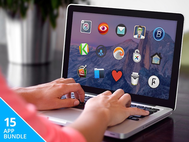 This bundle of 15 apps will give your Mac a whole new set of skills, streamlined performance, and security features.
