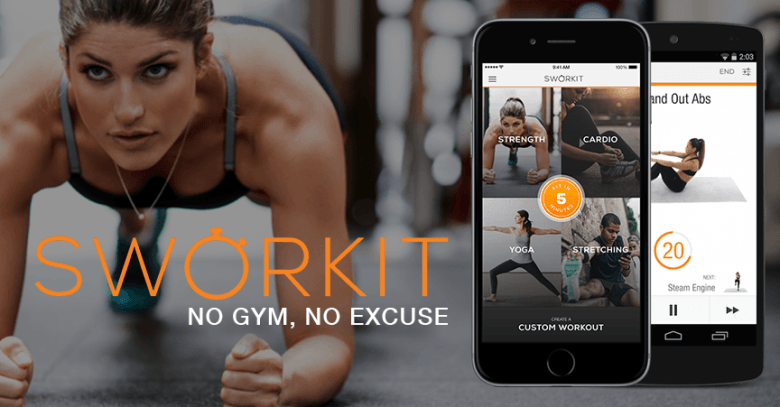 Sworkit is one of the few apps that actually meets all of the guidelines for a complete workout.