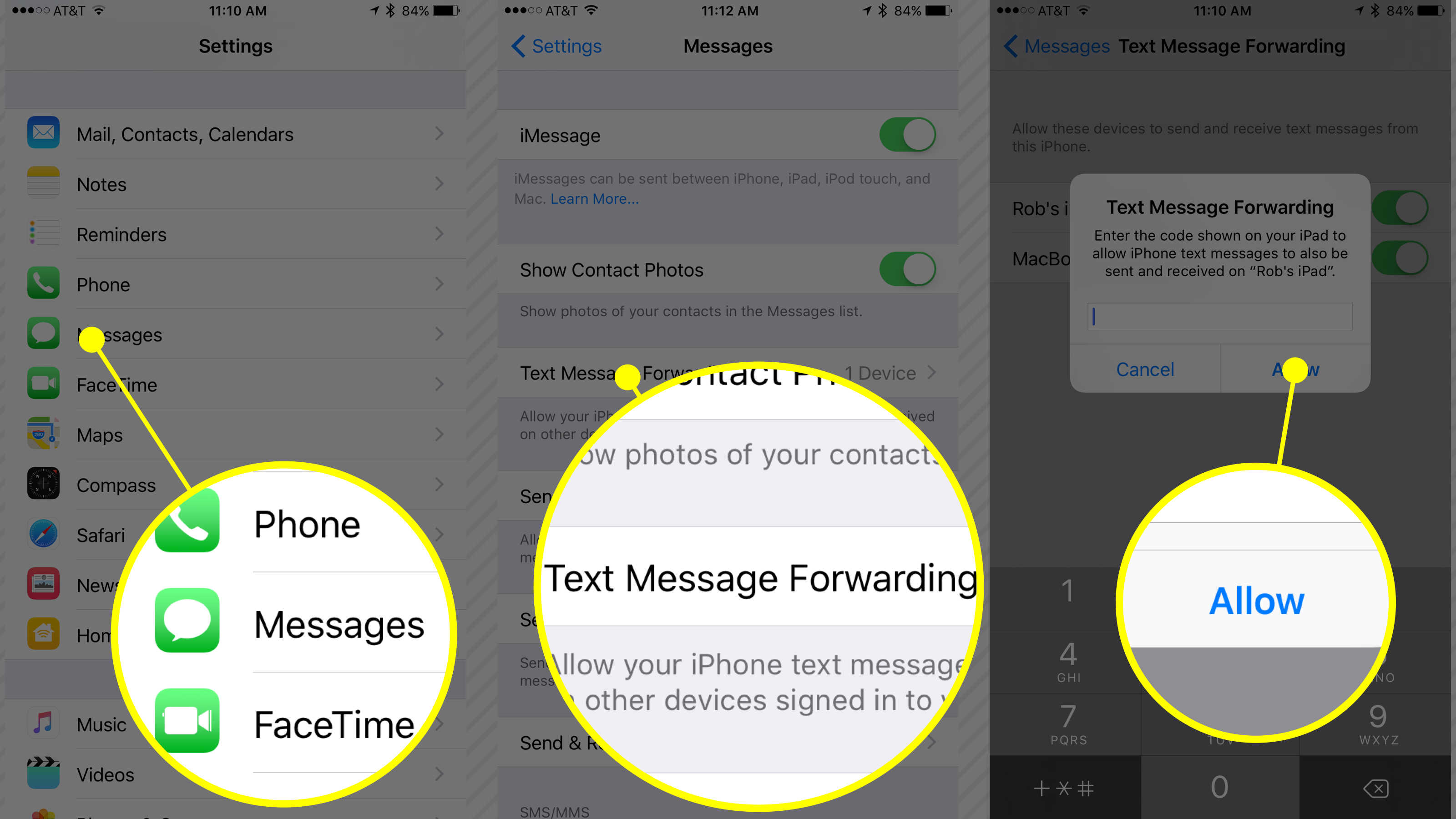 iphone text forwarding how to set up your new iphone xs or iphone xs max the 12372