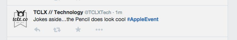 Twitter #appleevent