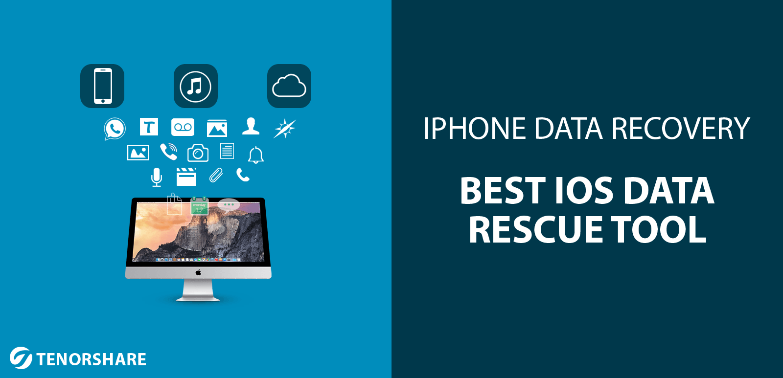 iPhone Data Recovery for Mac offers total access to your iOS device's backup files, including from iTunes and iCloud.