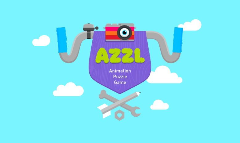 AZZL is a  brain-teasingly clever puzzle game featuring lovingly designed animations and characters.
