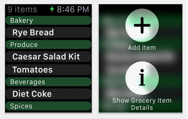 MealPlan Apple Watch App