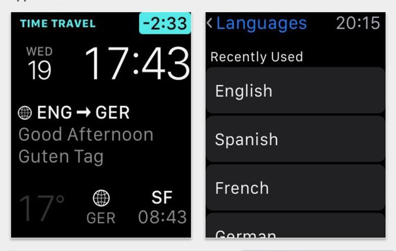 iTranslate Apple Watch app