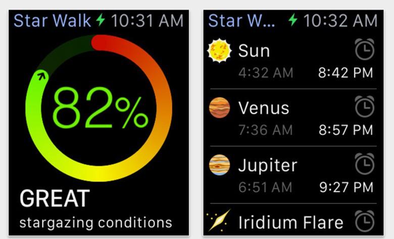 Star Walk Apple Watch App