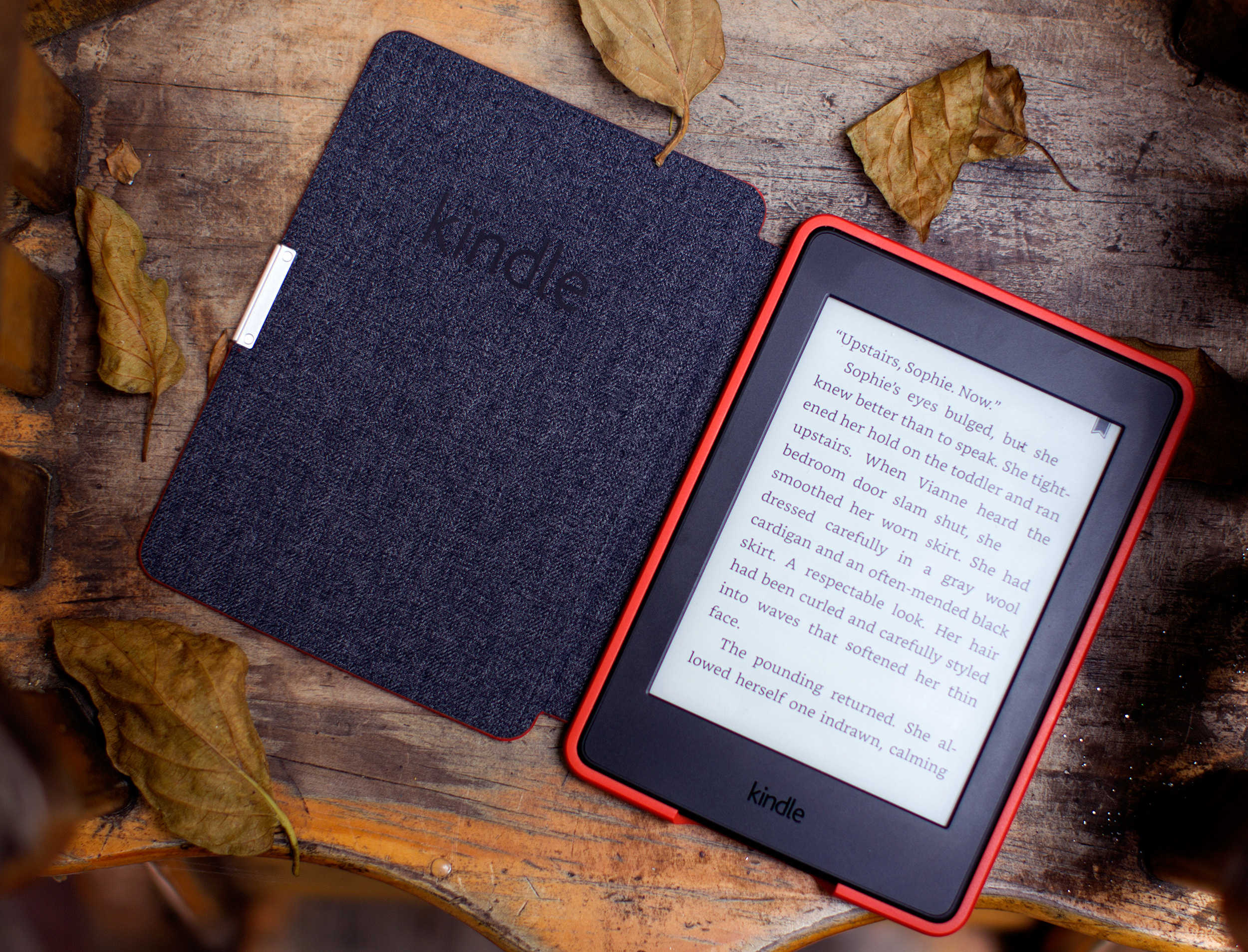 Get a gazillion books at your fingertips day and night with the Kindle Paperwhite.
