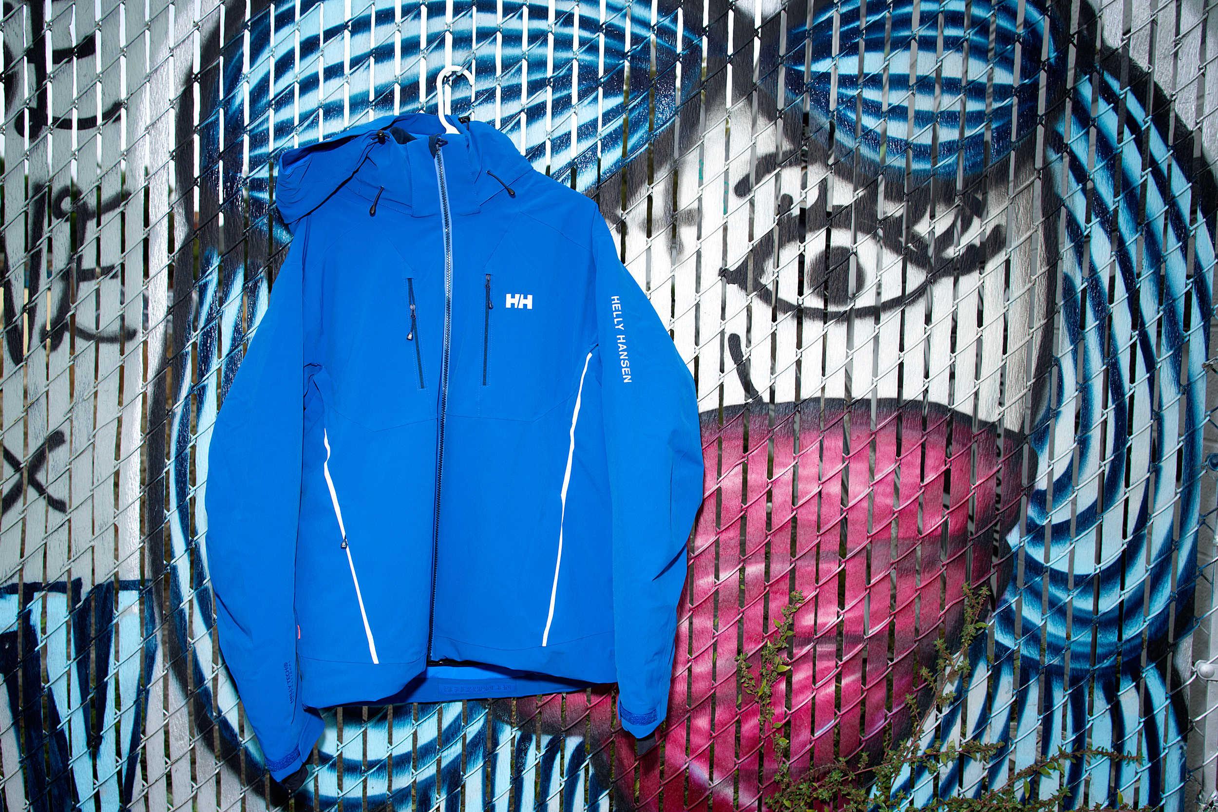 Helly Hansen updates its resort jacket.
